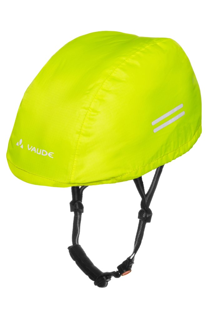 VAUDE Kids Helmet Raincover neon yellow