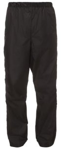 VAUDE Men's Fluid Full-zip Pants II black Größ XXXXL
