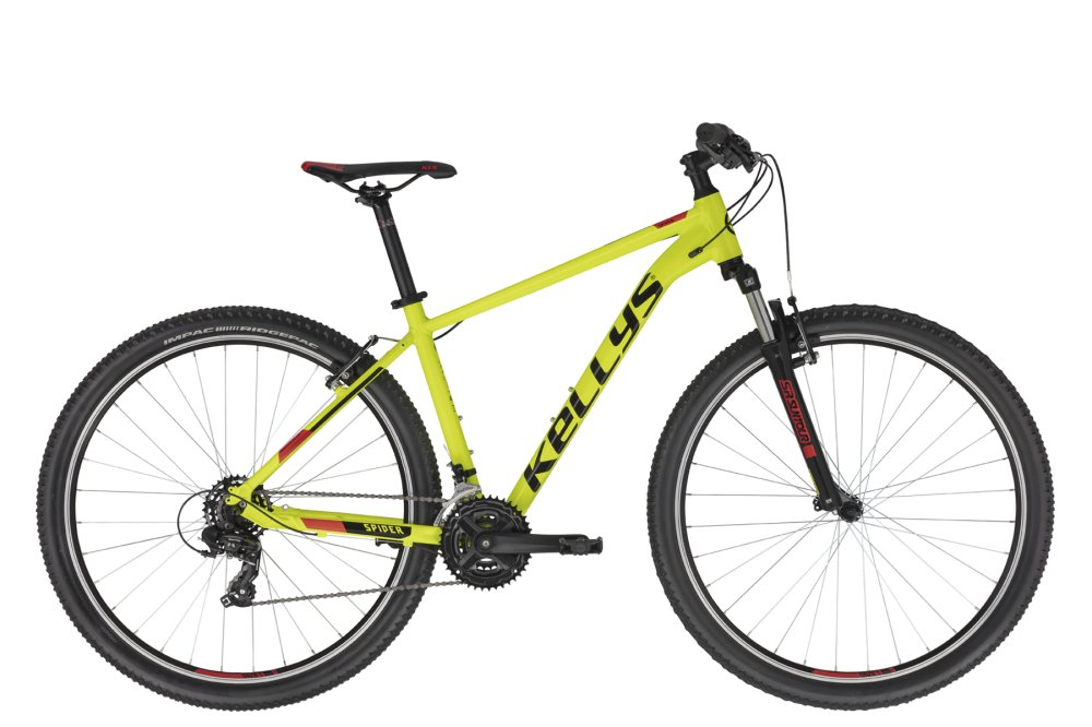 KELLYS Spider 10 Neon Yellow L 29