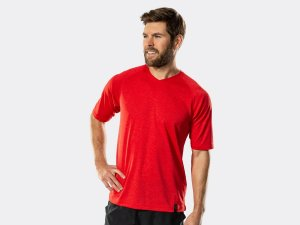 Bontrager Shirt Quantum Tech Tee XS Viper Red