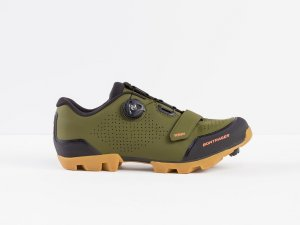 Bontrager Schuh Foray Men 48 Olive Grey