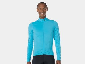 Bontrager Jersey Velocis Thermal LS Large Azure