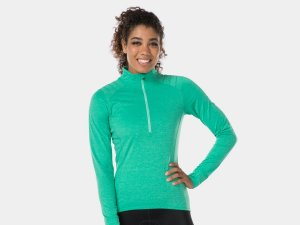 Bontrager Jersey Vella Thermal LS X-Small Miami Green