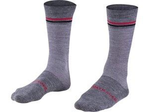 Bontrager Sock Thermal Wool Crew Medium (40-42) Dark Grey